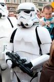 Soldato di cavalleria di Star Wars Fotografie Stock Libere da Diritti
