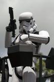 Soldato di cavalleria di tempesta Fotografia Stock