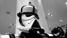 Soldato di cavalleria di tempesta in metallo Fotografia Stock Libera da Diritti