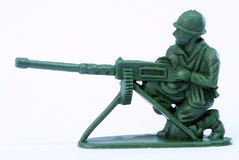 Soldato di giocattolo Immagine Stock Libera da Diritti