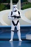 Soldato di Star Wars a Disneyland Fotografia Stock Libera da Diritti