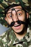 Soldato divertente Immagine Stock Libera da Diritti