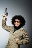 Soldato divertente Fotografia Stock