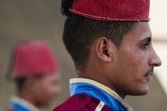 Soldato egiziano Fotografie Stock Libere da Diritti