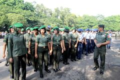 Soldato femminile Immagine Stock Libera da Diritti
