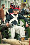 Soldato francese Immagine Stock