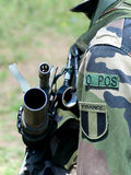 Soldato francese Immagini Stock