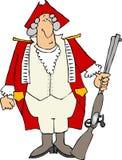 Soldato inglese royalty illustrazione gratis