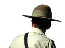 Soldato isolato Fotografia Stock Libera da Diritti