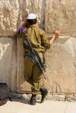 Soldato israeliano Fotografia Stock Libera da Diritti