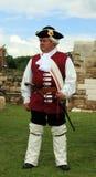 Soldato medioevale Fotografia Stock Libera da Diritti