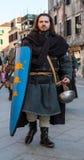 Soldato medioevale Fotografie Stock Libere da Diritti