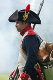 Soldato napoleonico Fotografie Stock