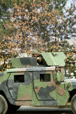 Soldato nell'azione Immagine Stock