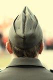 Soldato nella fine in su Fotografia Stock