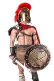 Soldato o gladiatore antico Immagine Stock Libera da Diritti