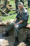 Soldato polacco WWII Fotografia Stock