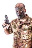 Soldato privato fotografia stock
