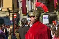 Soldato romano Fotografie Stock