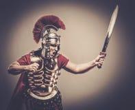 soldato romano del legionary Immagini Stock