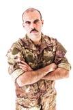 Soldato sicuro Fotografia Stock
