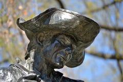 Soldato Statue Immagine Stock