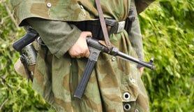 Soldato tedesco Fotografie Stock Libere da Diritti