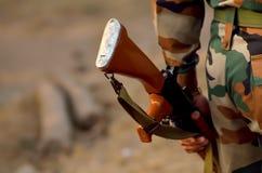 Soldatsäkerhet Royaltyfri Fotografi