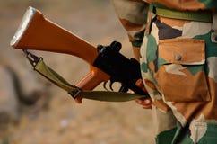 Soldatsäkerhet Royaltyfri Foto