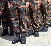 soldats Photographie stock