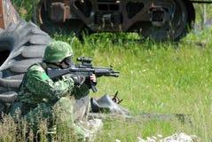 Soldats Images stock