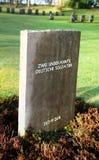 Soldats allemands inconnus graves de guerre Photos libres de droits