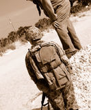 Soldats américains de WWII Photos libres de droits