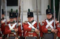 Soldats britanniques Images libres de droits