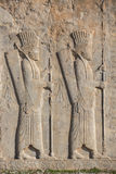 Soldats d'empire historique avec l'arme dans des mains Images stock