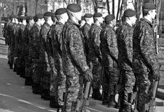 Soldats de Canadiens Photos stock