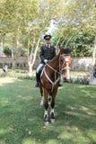 Soldats de cavalerie dans le palais de Topkapi Photo libre de droits