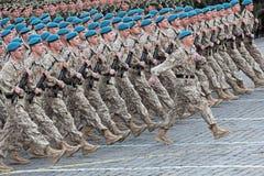 Soldats de commande Photographie stock