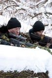 Soldats de ??e. Images libres de droits