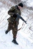 Soldats de ??e. Image libre de droits