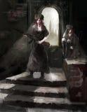 Soldats de filles illustration libre de droits