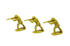 Soldats de jouet Photos stock