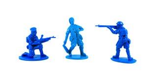 Soldats de jouet de plastique Photographie stock