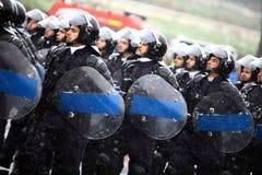 Soldats de jour national de la Roumanie Images stock
