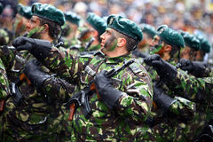 Soldats de jour national de la Roumanie Photos libres de droits