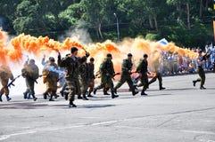 Soldats de marine Photo stock