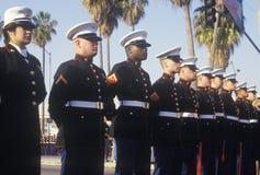 Soldats de marine des Etats-Unis Photographie stock