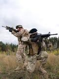 soldats de marine nous image stock