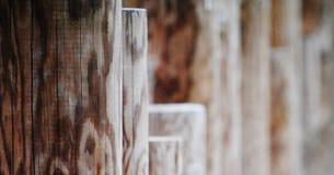 Soldats en bois Images stock