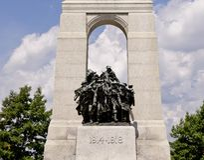 Soldats en bronze de guerre Image stock